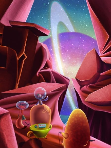 Brad Praria Desert Planet