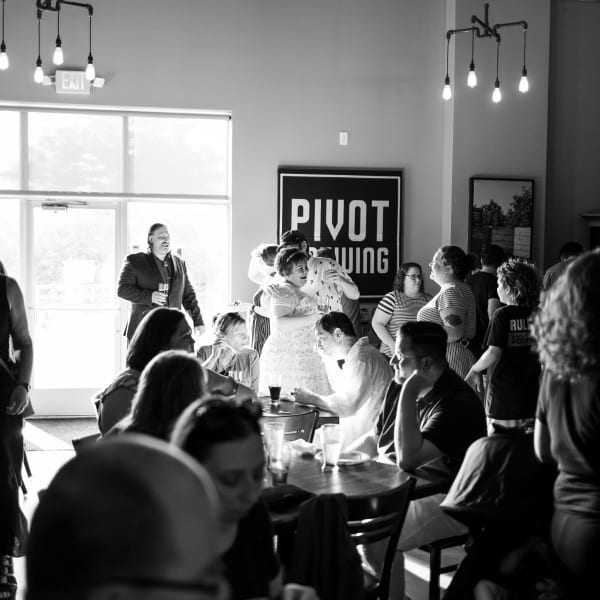 Pivot Brewing Wedding