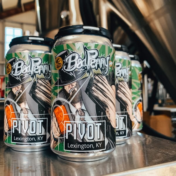 Pivot Bad Penny Beer Cans