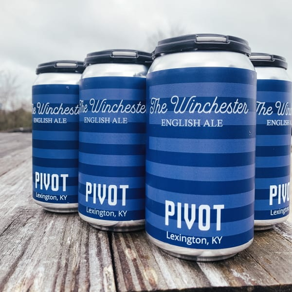 Pivot Winchester Beer Cans