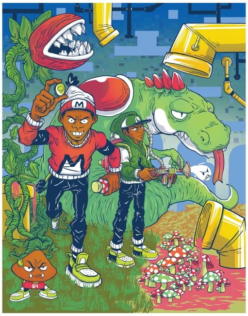 Bryce Oquaye artwork copyrighted